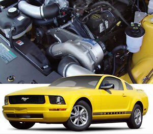 Mustang V6 P1sc Procharger Supercharger Complete Stage Ii 2 Intercooled System