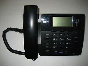 Rca 25201re1 a 2 line Lcd Display Speaker Telephone