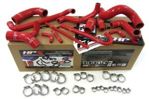Hps Silicone Radiator Hose Kit W Clamps 88 91 Bmw E30 M3 red
