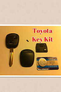 Replacement For Toyota Blank Key Corolla Land Cruiser Celica Yaris