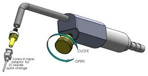 Hho Torch With Integrated Flash Back Arrestor Water Welder Dry Cell Hydrogen