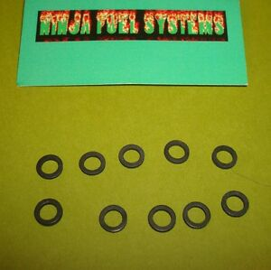 Carter Thermoquad Carburetor Hot Air Passage Rubber Gasket 10 Pack