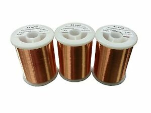 Pickup Winders Kit 2 42 43 44 Awg Enameled Copper Magnet Wire 1 0 Lbs