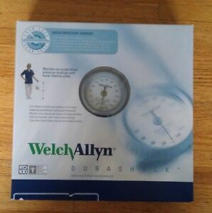 New Welch Allyn Durashock Adult Cuff Aneroid Sphygmomanometer Ds44 11