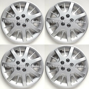 Silver Wheel Covers Hubcaps 16 For 2000 2011 Chevy Impala