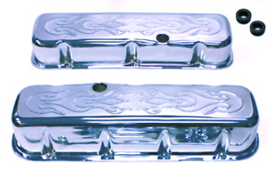 Big Block Chevy Tall Flame Valve Covers 396 502