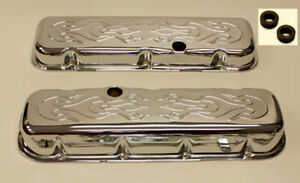 Big Block Chevy Short Flame Valve Covers 396 502