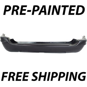 Painted To Match Rear Bumper For 1999 2004 Jeep Grand Cherokee Limited Overland