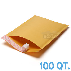 100 1 7 25x12 Kraft Bubble Mailers Padded Envelopes Bags From Theboxery