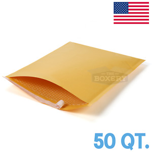 50 7 Kraft Bubble Mailers Made In The Usa