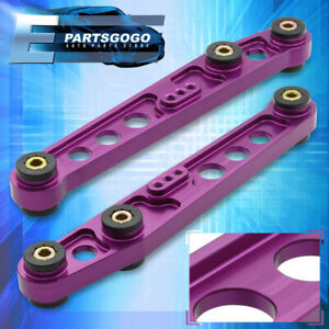 92 93 94 95 Honda Civic Lca Rear Lower Cnc Aluminum Control Arm Purple Jdm Eg Ej