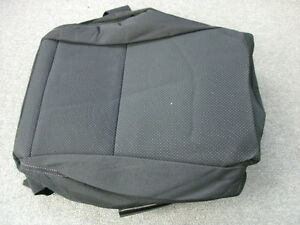 Mazda 6 Mazdaspeed6 Black Cloth Left Front Seat Bottom Cover