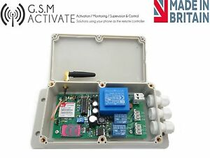 Gsm Switch With Timer Function Mobile Phone Remote Control