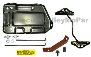 Battery Tray Hold down Set For 1967 1969 Mopar A body