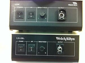 Welch Allyn Lx 150 Light Source With Air Pump