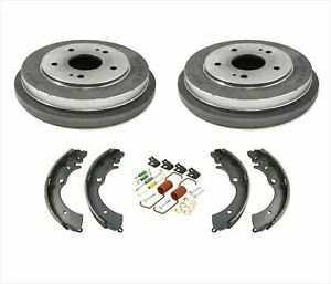 100 New Rear Drums Brake Shoes Spring Kit For Honda Accord 2 4l 03 07