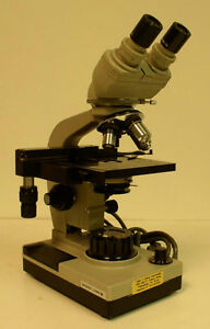 Bausch Lomb Galen I Compound Biological Microscope used
