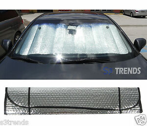 Front Window Windshield Sun Shade Reflector Accordion Foldable Car