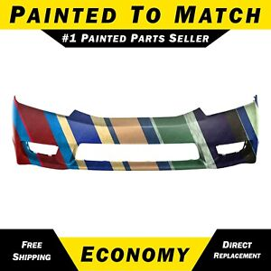 New Painted To Match Front Bumper Cover For 2009 2011 Honda Civic Sedan Hybrid