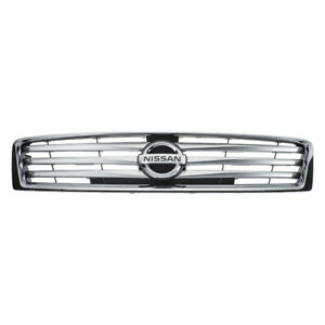 2012 2014 Nissan Maxima Chrome Front Accent Radiator Grille Genuine Oem New