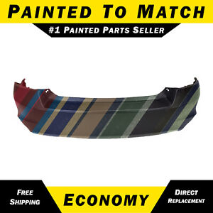 Painted To Match Rear Bumper Cover Replacement For 2008 2012 Honda Accord Sedan