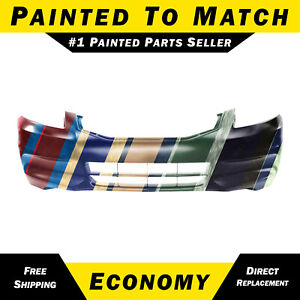 New Painted To Match Front Bumper Cover Exact Fit For 2011 2012 Honda Accord 4dr