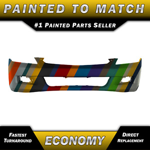 New Painted To Match Front Bumper Cover For 2006 2007 Honda Accord Sedan 4 Door