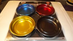 4 Color Magnetic Parts Tray_4pc _4 allows You To Color Code Your Project