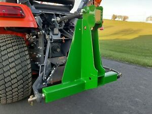 3 point Receiver Hitch green
