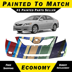 New Painted To Match Front Bumper Cover For 2007 2008 2009 Toyota Camry Se