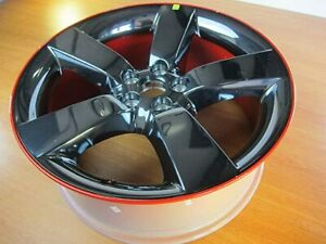 Dodge Challenger Charger 20 Rally Redline Edition Factory Oem Wheel Rim