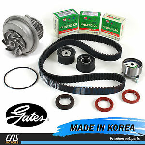 Gates Htd Timing Belt Kit Water Pump For 99 08 Suzuki Forenza Reno Optra Nubira