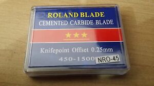 Many Brands Vinyl Cutter Plotter Blades Sign Making Self Adhesive Vinyl Roland