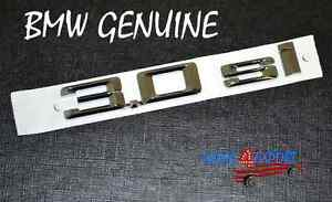 New Bmw E83 X3 Fender Left right 3 0 Si Emblem Genuine