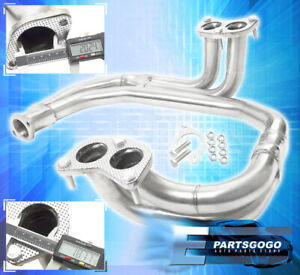 For 97 05 Subaru Legacy Impreza Wrx Rs 2 5l Stainless Steel Header Exhaust 98 98