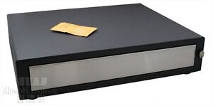Mmf Cash Drawer 226 111151312 g2 Storm Grey charcoal W Till New In Box