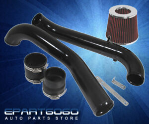 96 00 Honda Civic Dx Lx 1 6l Sohc Em1 Black Piping Cold Air Intake With Filter