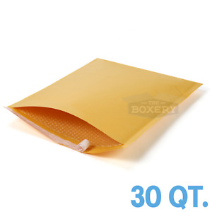 30 8 Kraft Bubble Padded Envelopes Mailers 14 5 X 26