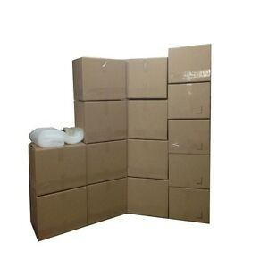 Economy Moving Box Kit 15 Boxes 10 Medium 5 Small Plus Supplies Included