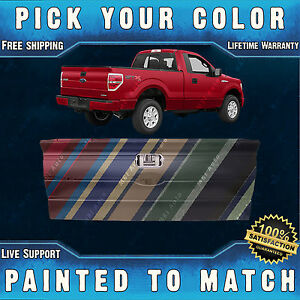 New Painted To Match Rear Tailgate For 2009 2014 Ford F150 Truck Without Step