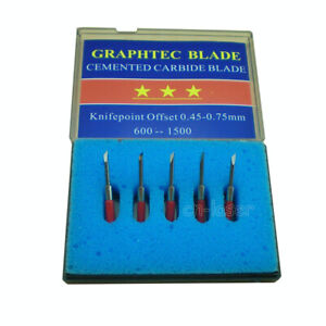 5pcs 45 Hq Graphtec Cb 15 Blades For Vinyl Cutter Cutting Plotter