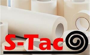 S tac Paper Roll Of Application Transfer Tape Many Sizes App Tape Clear A4
