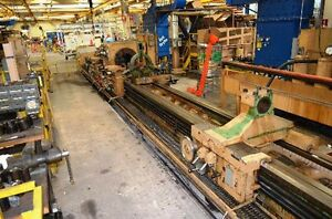 32 5 Swing X 22 Centers Lodge Shipley Hollow Spindle Oil Field Lathe 13 hole