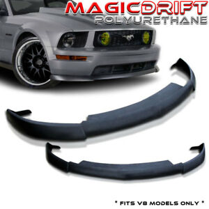 For 05 06 07 08 Ford Mustang Gt Front Bumper Spoiler Cv2 Style Chin Lip Urethane