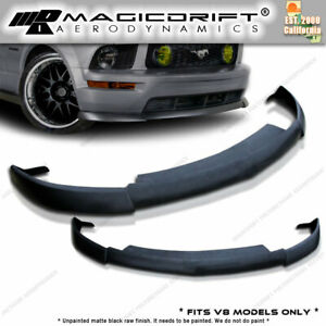 05 06 07 08 Ford Mustang Gt Front Bumper Spoiler Cv2 Style Chin Lip Urethane