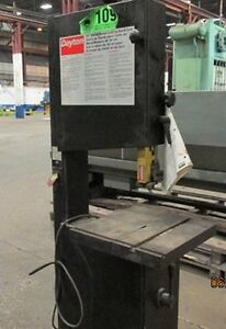 Dayton Vertical Band Saw 15 5847