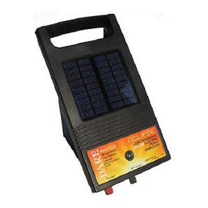 Usa Dare Solar Battery Eclipse Ds20 3 Acres Fence Charger Garden Portable Trail