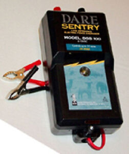 Usa Dare Sentry Portable Fence Dsb 100 6 Volt Fence Charger Trail Rider