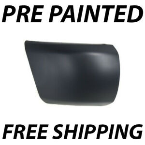 New Painted To Match Passengers Front Bumper End For 2007 2013 Chevy Silverado