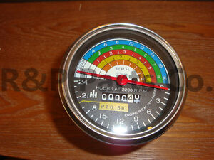 Tachometer For Farmall International Ih Utility 504